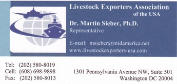 Dr. Martin Sieber's LEA business card
